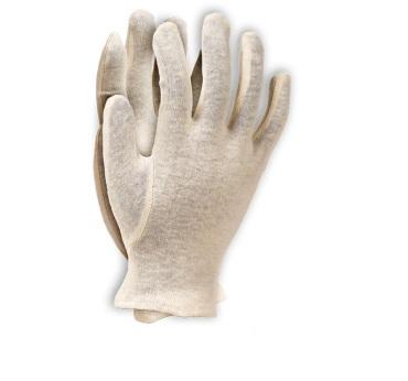 АРТ. 130В Перчатки трикотажные белые